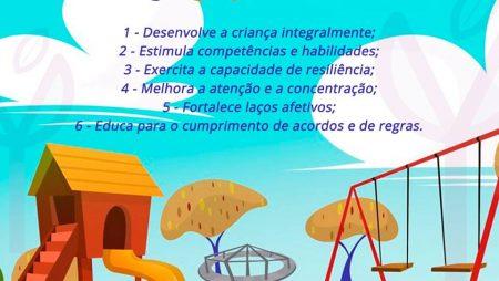 Seis benefícios do brincar!